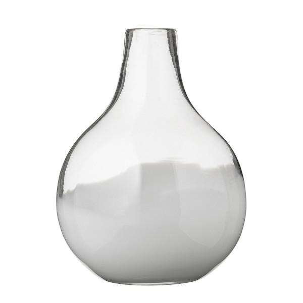 glasvase vase weiss bloomingville. Black Bedroom Furniture Sets. Home Design Ideas